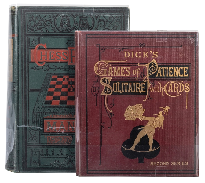 Pair of Books on Games of Patience.