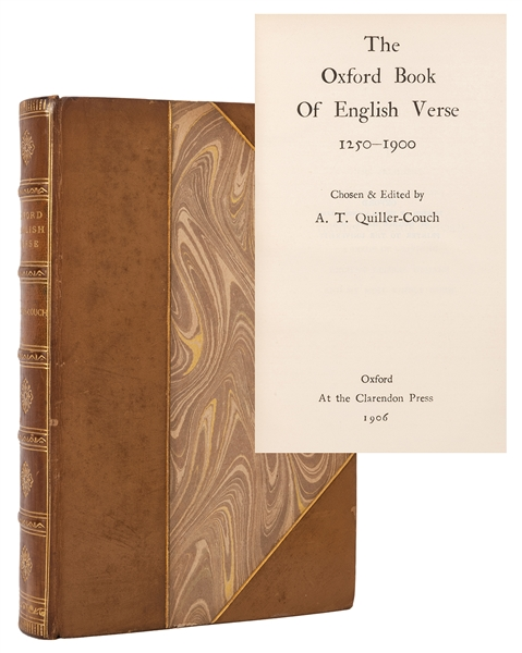 The Oxford Book of English Verse, 1250-1900.