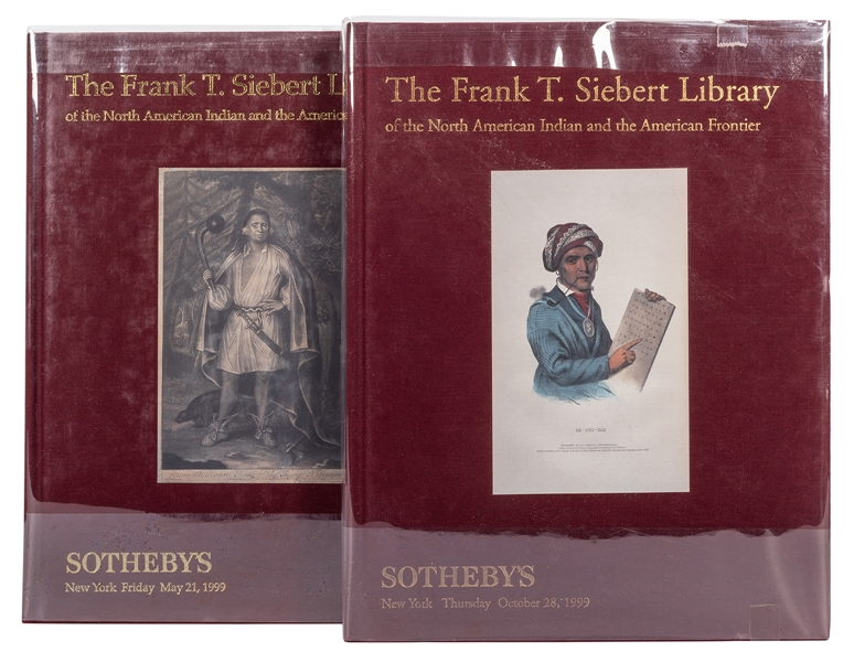 The Frank T. Siebert Library Sotheby's Auction Catalogue.