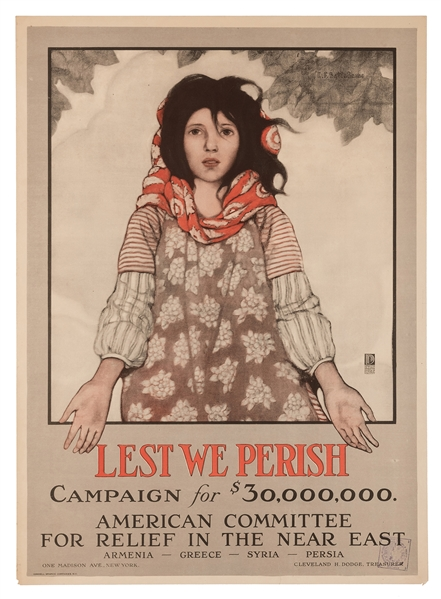 Lest We Perish. American Committee for Relief in the Near East.