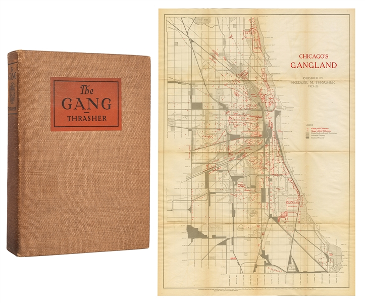 Chicago's Gangland Prepared by Frederic M. Thrasher 1923-26.