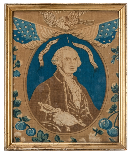 Centennial of George Washington's Birth Embroidery.