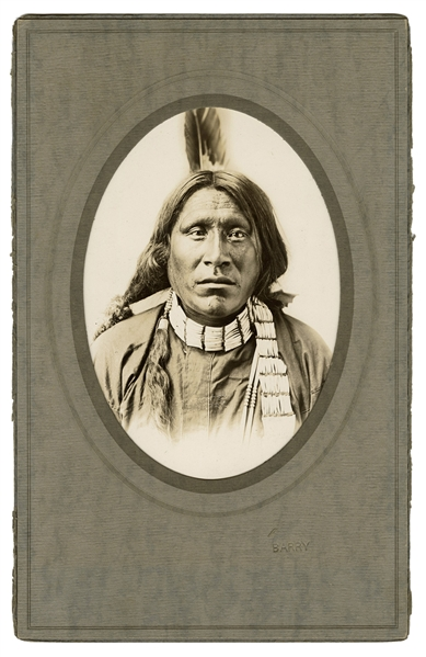Photograph of Chief Old Crow.