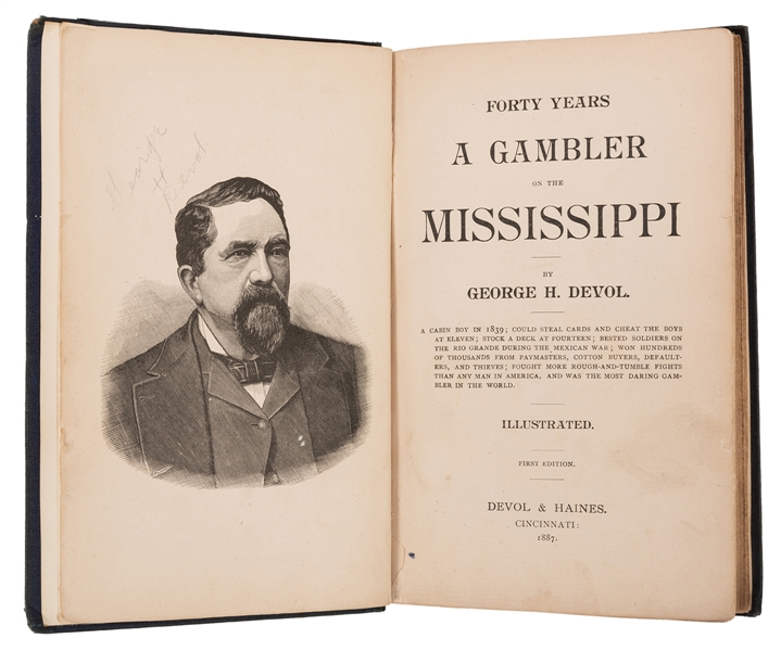 Forty Years a Gambler on the Mississippi.