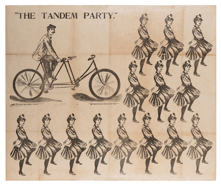 """The Tandem [Bicycle] Party"" Children's Game."