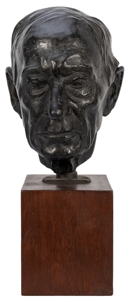 Harry Wickey. Bronze Bust of his Father.