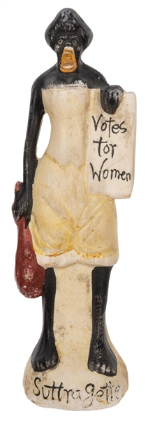 Sojourner Truth Bisque Figure.