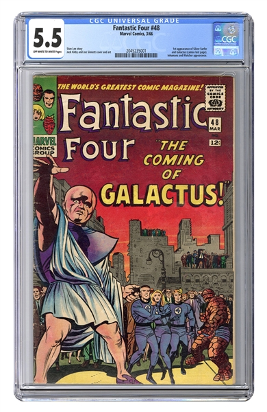 Fantastic Four No. 48. CGC 5.5.