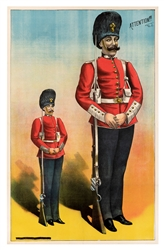 Stock Poster of a Giant Guardsman.