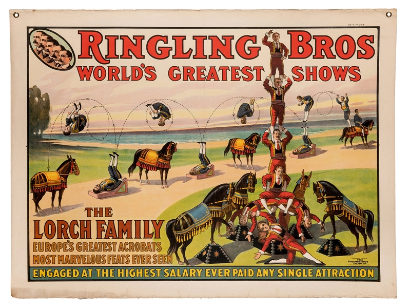 Ringling Bros. The Lorch Family.