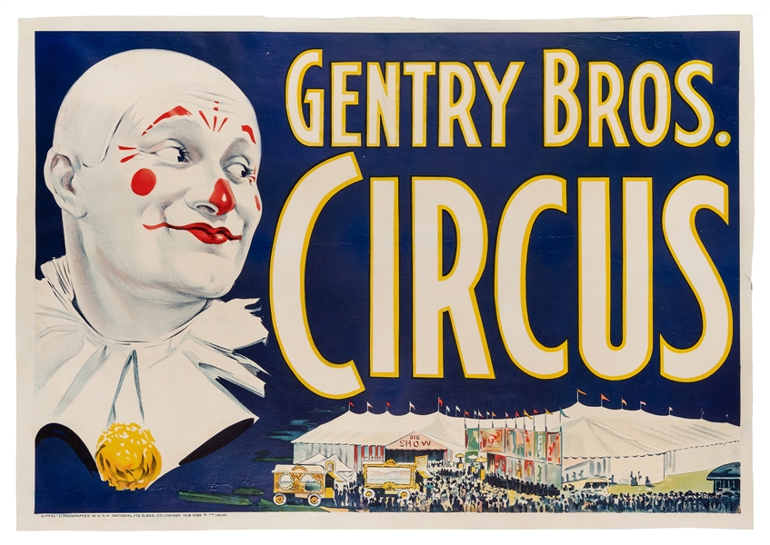 Gentry Bros. Circus.
