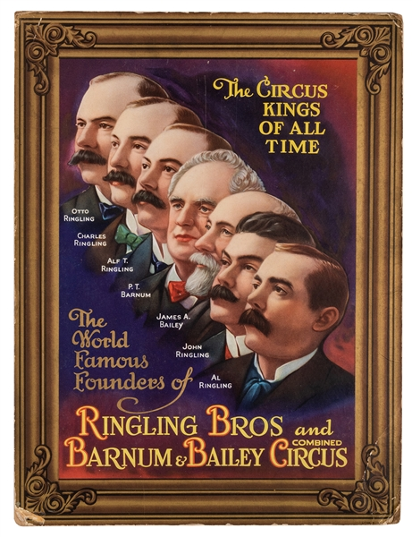 Ringling Brothers and Barnum & Bailey Combined Circus. The Circus Kings of All Time.