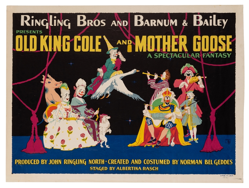 Ringling Bros. and Barnum & Bailey. Old King Cole & Mother Goose.