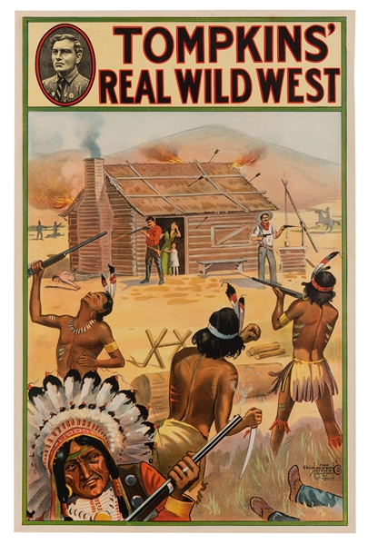 Tomkins' Real Wild West.