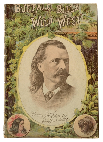 1889 Buffalo Bill's Wild West American Program.