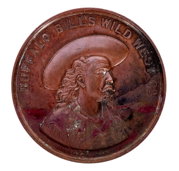 Buffalo Bill Commemorative Medal of the 1892 Season.
