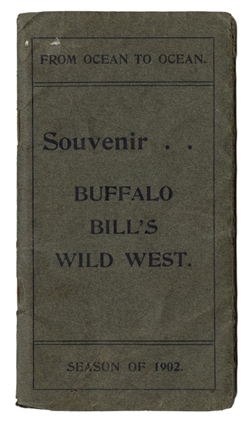 Buffalo Bill's Wild West 1902 Pocket Route Book.