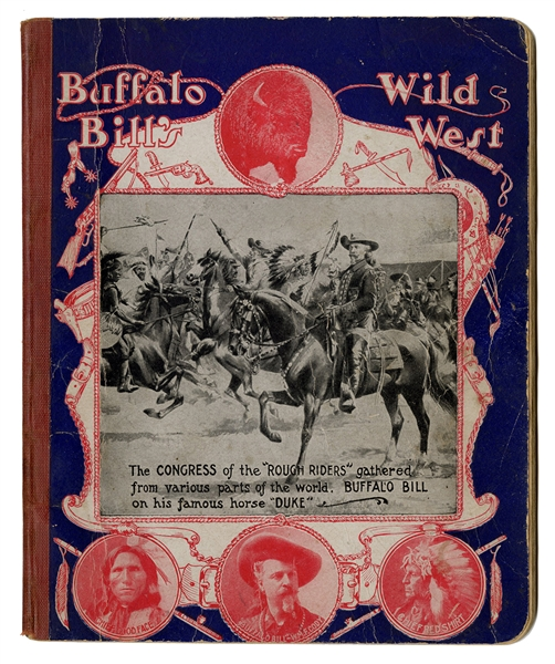 Buffalo Bill's Wild West Writing Tablet.