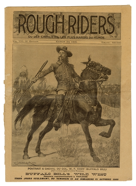 Rough Riders Advance Courier 1905.