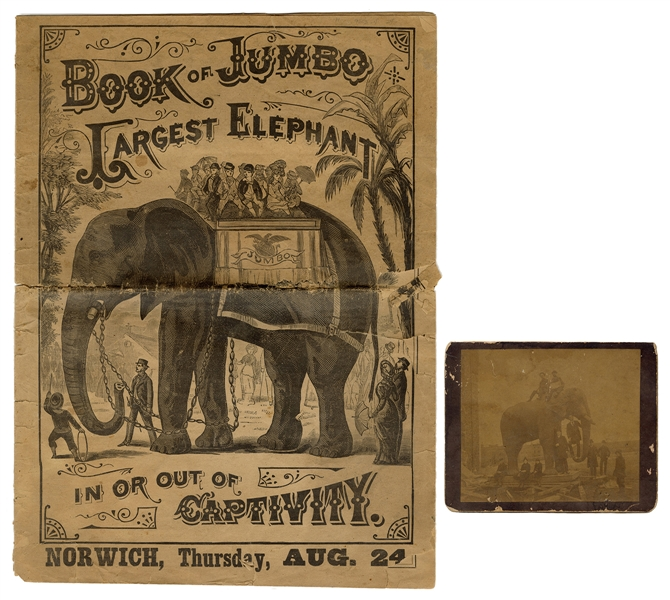 Book of Jumbo Courier and Jumbo Cabinet Card.