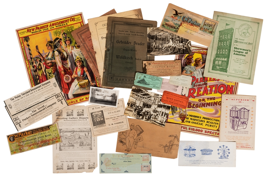 C.W. Parker Carousel and Amusement Factory Archive.