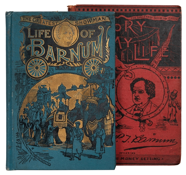 The Life of Barnum: The World-Renowned Salesman [Salesman's Dummy Copy].
