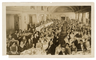 Houdini Society of American Magicians Panoramic Photograph.