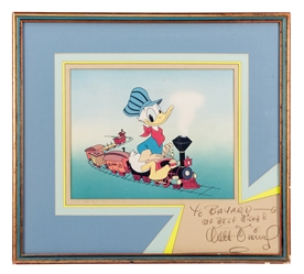 Walt Disney Inscribed and Signed Dye Transfer.