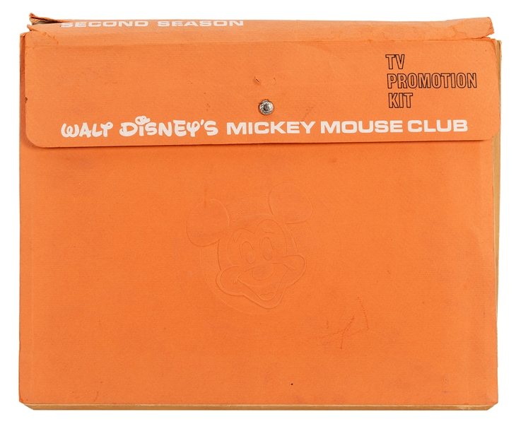 Mickey Mouse Club TV Promotion Kit. Second Season.