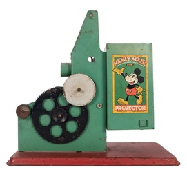 Keystone Mfg. Mickey Mouse Projector.