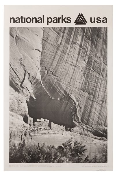 Adams, Ansel. The White House–Canyon de Chelly National Monument. National Parks USA.