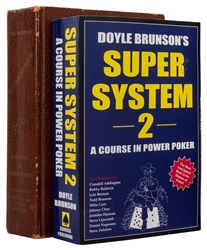 Brunson, Doyle. Super System and Super System 2 [Signed].