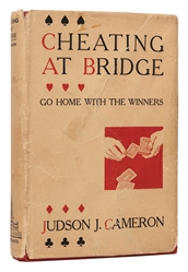 Cameron, Judson J. Cheating at Bridge.