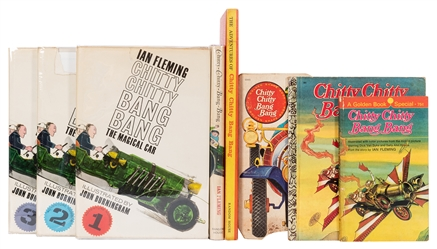 Group of Ten Chitty Chitty Bang Bang Titles.