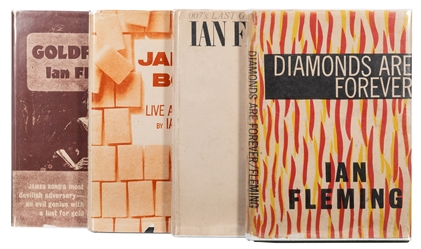 Four James Bond Pirated Editions.