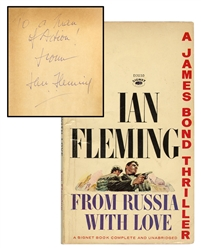 From Russia, With Love, [inscribed and signed].