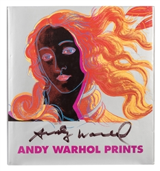 Andy Warhol Prints: A Catalogue Raisonne´, [signed].