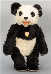 Steiff Panda Bear 1951 Replica Limited Edition. 1995. One o...