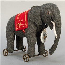 Steiff Club Elephant on Wheels. 1997. Limited edition. EAN ...