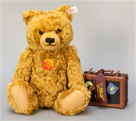 Steiff Passport Bear 1997. One of 3,500 examples. In box wi...
