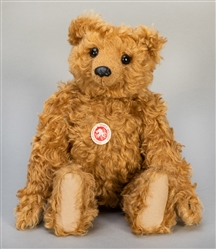Steiff Rod Bear 1904 Replica. (2004). Curly brown mohair. F...