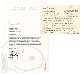 Charles Schulz Typed Letter Signed on Author's Letterhead. ...
