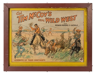 Col. Tim McCoy's Real Wild West. Cowboys of Three Continent...