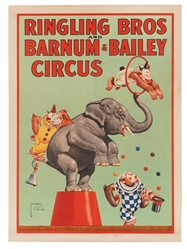 Ringling Bros. and Barnum & Bailey Circus. Monkeys and Elep...