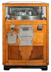Exhibit 25 Cent Supply Rotary Merchandiser. Circa 1930s. In...