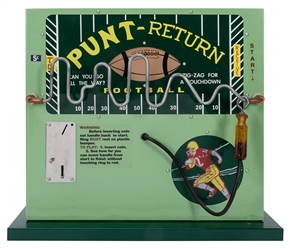 Football Punt Return 5 Cent Booze Barometer. Northwestern M...