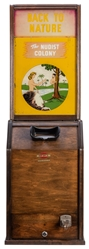 "Exhibit Supply ""Nudist Colony"" Coin-Operated Arcade Machine..."