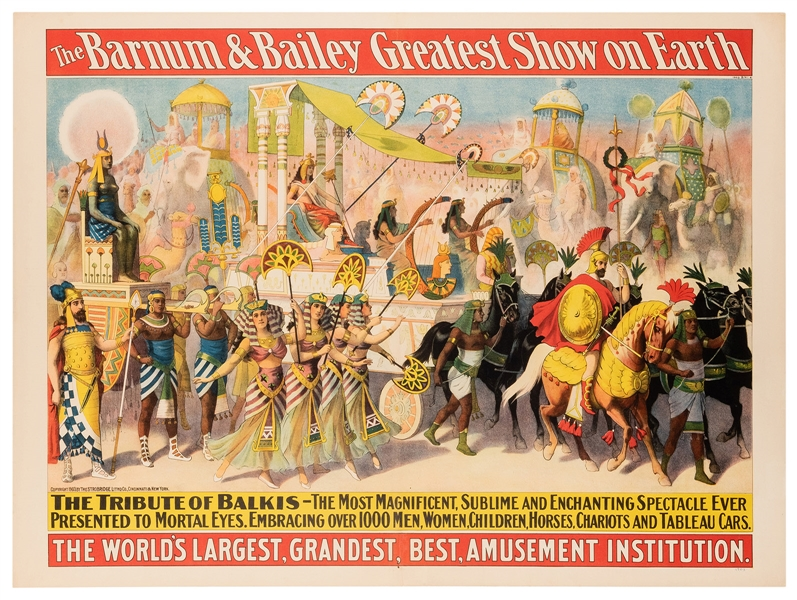 The Barnum & Bailey Greatest Show on Earth. The Tribute of ...