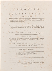 BOUTCHER, William. A Treatise on Forest Trees… Edinburgh: p...
