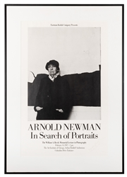"NEWMAN, Arnold (1918–2006). Signed Arnold Newman ""In Search..."